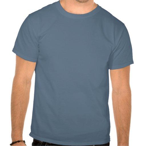 Pare los alces y la ardilla - oscuridad camiseta