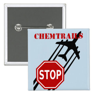 Pare los chemtrails pins