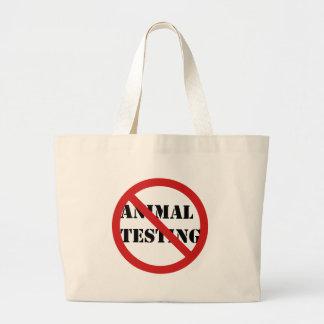 pare los ensayos con animales bolsas