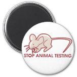 Pare los ensayos con animales imanes de nevera