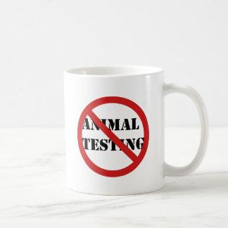 pare los ensayos con animales tazas
