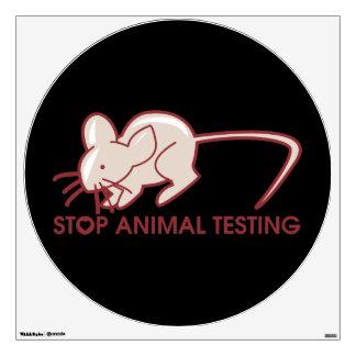 Pare los ensayos con animales vinilo decorativo