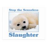 Pare los matanza-sellos postal