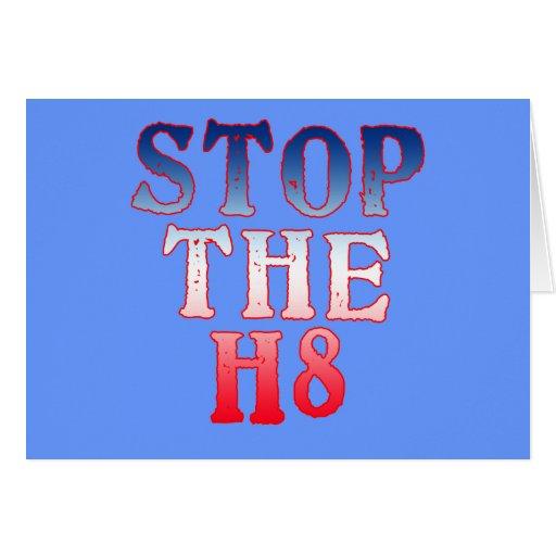 PARE los productos H8 Felicitaciones