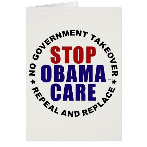 Pare Obamacare Felicitación