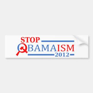 Pare Obamaism 2012 Pegatina Para Auto