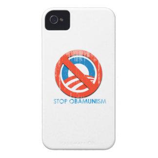 Pare Obamunism Faded.png iPhone 4 Case-Mate Coberturas