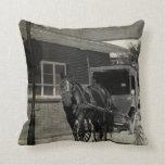 Pare para un encanto, caballo con errores de Amish Cojin