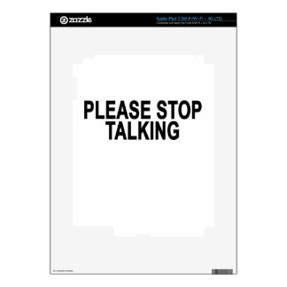 PARE POR FAVOR TALKING.png iPad 3 Skin