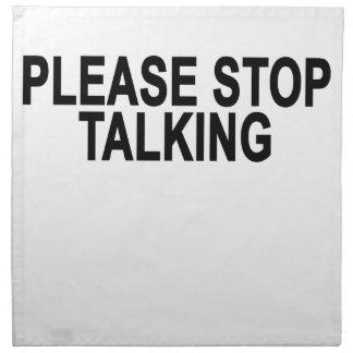 PARE POR FAVOR TALKING.png Servilleta