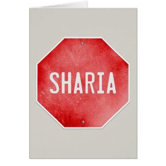 Pare Sharia Tarjeta De Felicitación