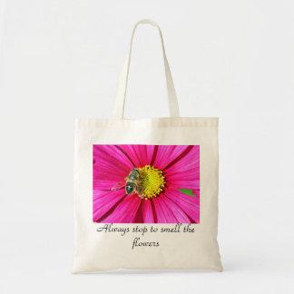 pare siempre para oler las flores bolsa