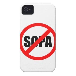 Pare SOPA Funda Para iPhone 4