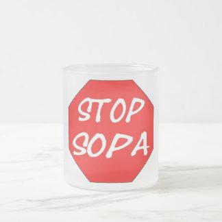 Pare SOPA Taza De Cristal
