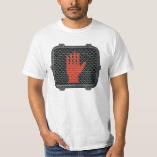 Pare y hable con la mano remeras