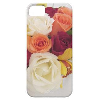 Pare y huela el cuaderno de los rosas funda para iPhone SE/5/5s