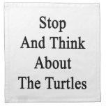 Pare y piense en las tortugas
