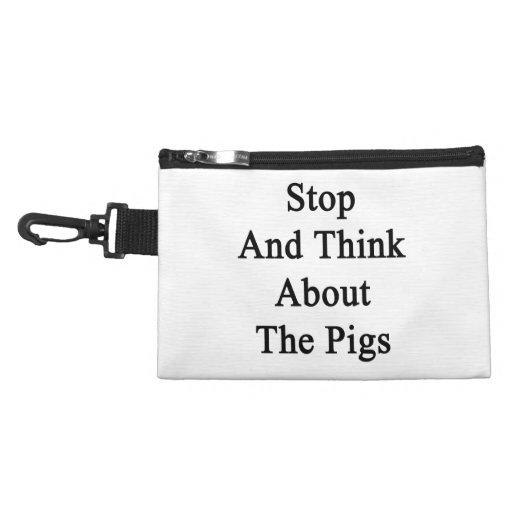 Pare y piense en los cerdos