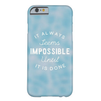 Parece siempre imposible funda barely there iPhone 6