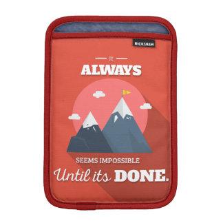 Parece siempre imposible hasta que haya hecho fundas iPad mini