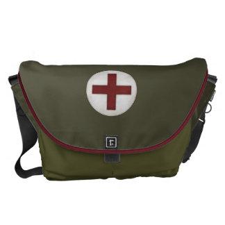 "Parece un ""equipo médico "" bolsas de mensajeria"