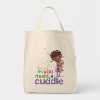 Parece usted necesitan una abrazo bolsa tela para la compra