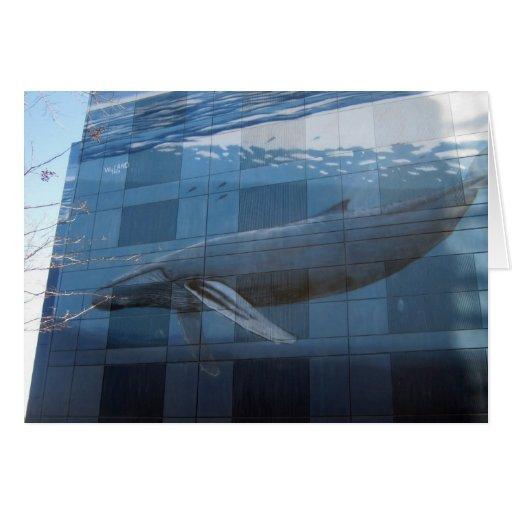 Pared #47 de la caza de ballenas felicitación