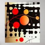 pared abstracta impresiones