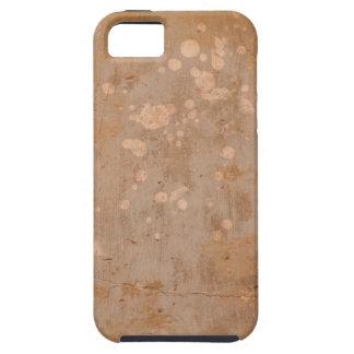 pared agrietada del cemento iPhone 5 fundas