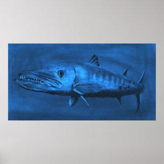 PARED CLASIFICADA--Barracuda azul clasificado enor Impresiones