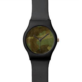 Pared de Camo Relojes De Pulsera