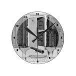 Pared de Juan Piranesi-Aurelian: Muro Torto Reloj