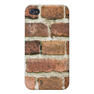 Pared de la caja de los ladrillos iPhone 4 fundas