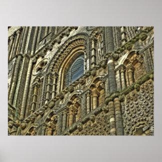 Pared de la catedral de la impresión de la fotogra impresiones