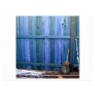 Pared de la guitarra de Mythos del carácter Tarjeta Postal