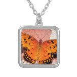 pared de la mariposa collar personalizado