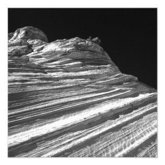 Pared de la onda en infrarrojo impresion fotografica