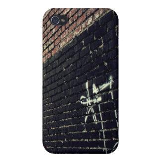Pared de la pintada iPhone 4 cárcasas