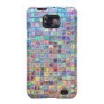 pared de la prisma 3D Samsung Galaxy S2 Fundas