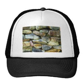 Pared de la roca gorra