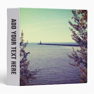 "Pared de la rotura del lago Superior Carpeta 1 1/2"""