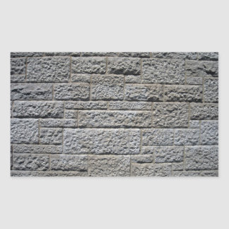 Pared de ladrillo de piedra inconsútil rectangular altavoces