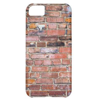 Pared de ladrillo desigual colorida funda para iPhone 5C