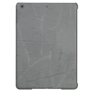 pared de ladrillo gris funda para iPad air