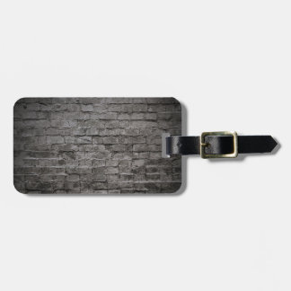 pared de ladrillo oscura negra etiquetas bolsas