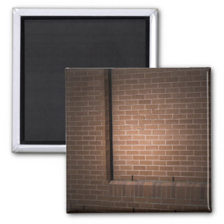 Pared de ladrillo roja texturizada imán para frigorífico
