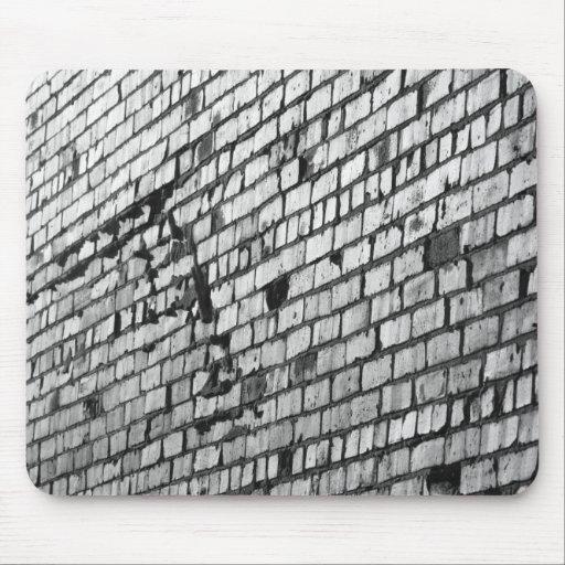pared de ladrillo tapetes de ratón