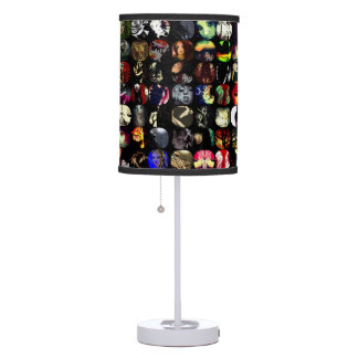 Pared de las lámparas del arte