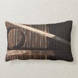 Pared de madera del granero de los tablones de Bro Almohada