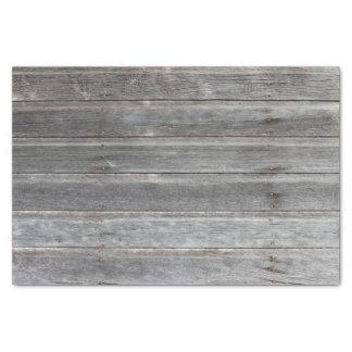 Pared de madera resistida rústica papel de seda pequeño